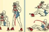 Egzersiz Yaparken Bebeğinizi Kullanmanın 6 Yolu