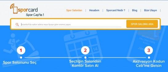 SporCard.com Salon Araması