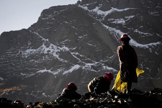 7. Perudaki madenci kadınlar