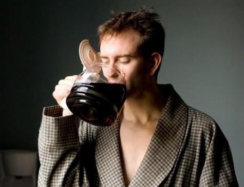 Kafein güçlü bir uyarıcıdır.