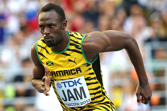 Dünyanın en hızlı 100 metre koşucusu: Usain Bolt