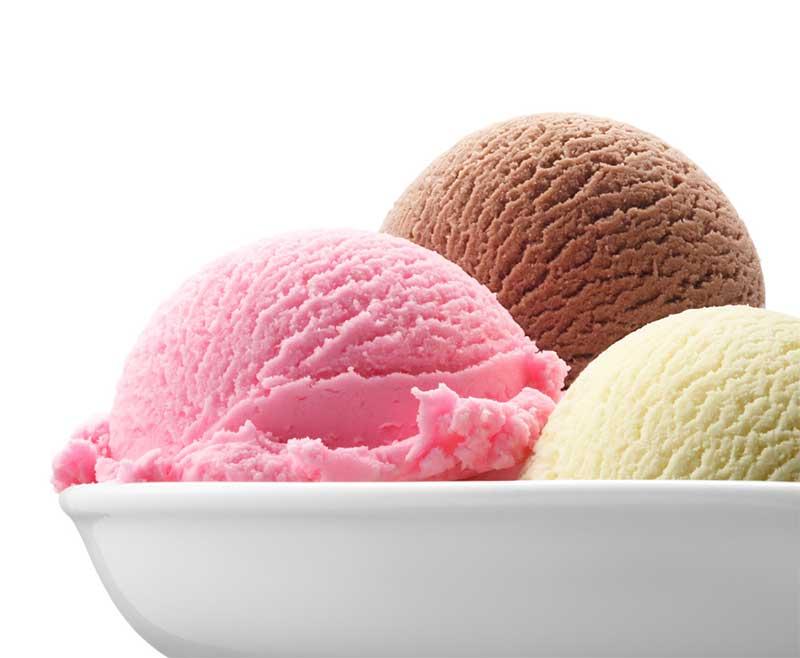 Damak tadınıza göre dondurmanızın aromasını seçebilirsiniz.
