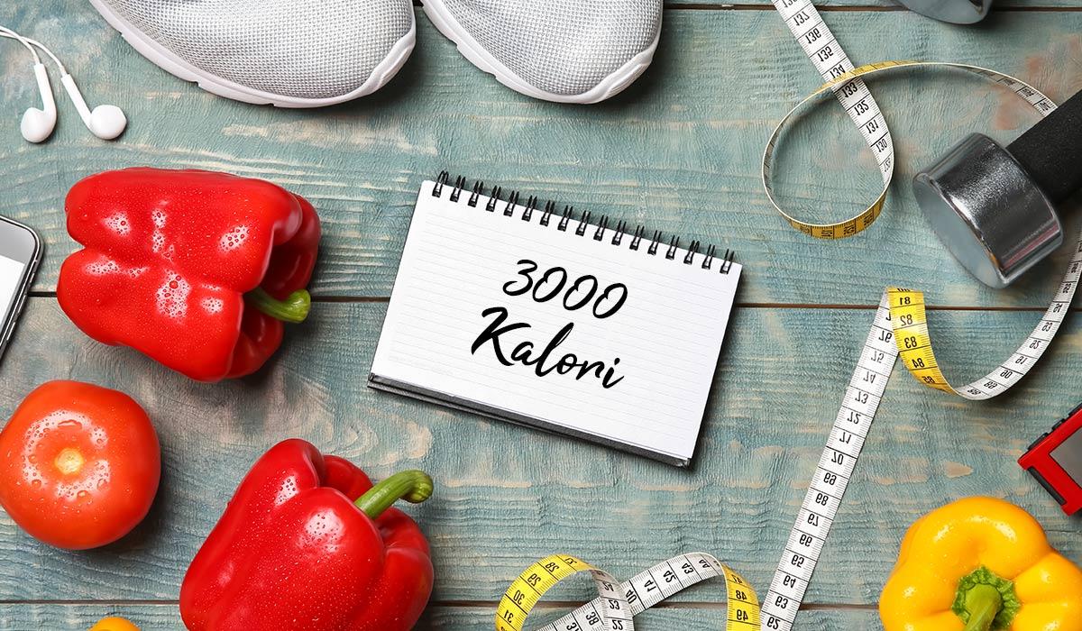 sporcular için 3000 kalorilik diyet programı hazırladık